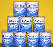 9 cans EleCare Unflavored Jr Formula 14.1oz cans $214.50