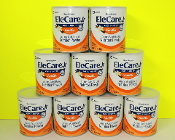 9 cans EleCare Jr Vanilla - 14.1oz/can