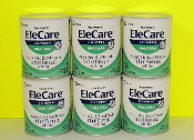 1 case EleCare Infant with DHA/ARA 6 - 14.1oz cans/case