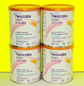 1 case Neocate Infant with DHA/ARA 4 - 14.1oz cans/case
